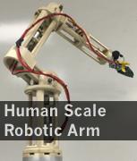 Human Size 5 DOF Robotic Arm